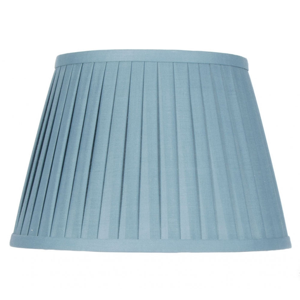 Lyndon Teal Pleat Lampshade Imperial Lighting